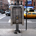 manhattan, east village, third avenue, shoes and phone booth (teleported)