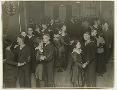 Dance at the J.W.B. Servicemen's Center, Waukegan, Illinois, 1919