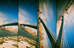 Manhattan Bridge from Brooklyn, New York (Supersampler)