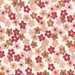 Red & Brown Flower Pattern