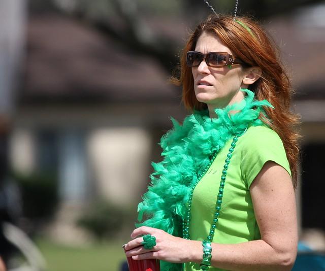 St. Patrick's day parade logo