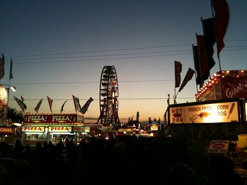 carnival sunset food signs festival florida fair ferriswheel midway plantcity strawberryfestival fairfood