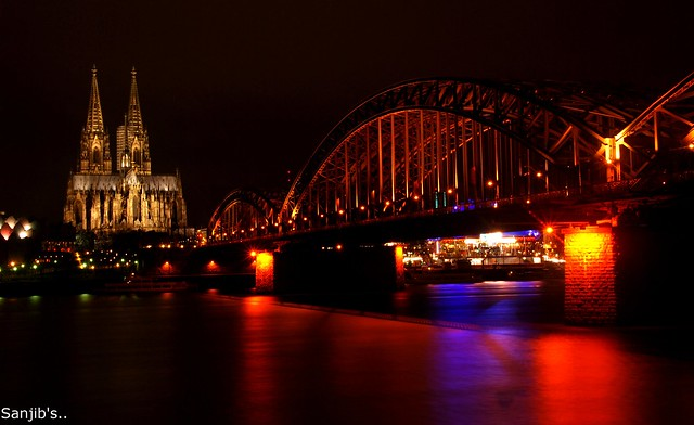 Cologne Cathedral @Nite...
