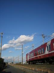 赤い電車 by Noël Café