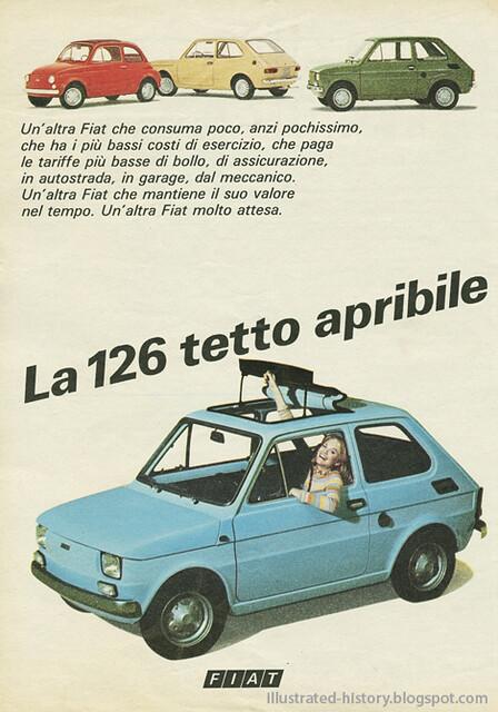 Pubblicità FIAT 126 1974