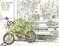bike parking by dyah sihanani