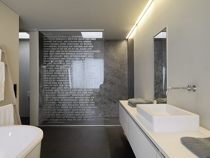 Interieur en design tips op tekst in de douche - Douche decoratie ...