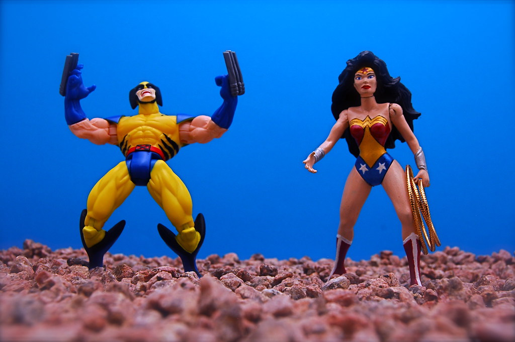 Wolverine vs. Wonder Woman (84/365)