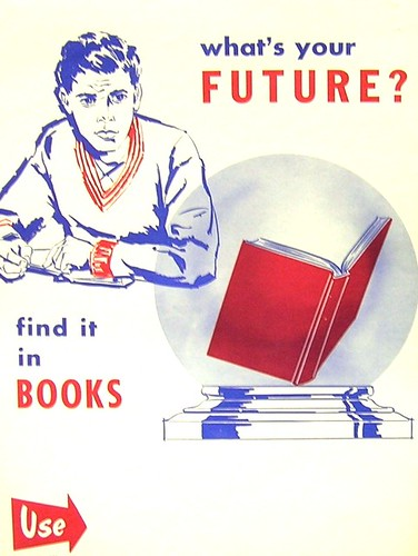 RETRO POSTER - What's in Your Future? by Enokson