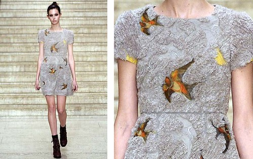 Spring 2010 Erdem dress swallows