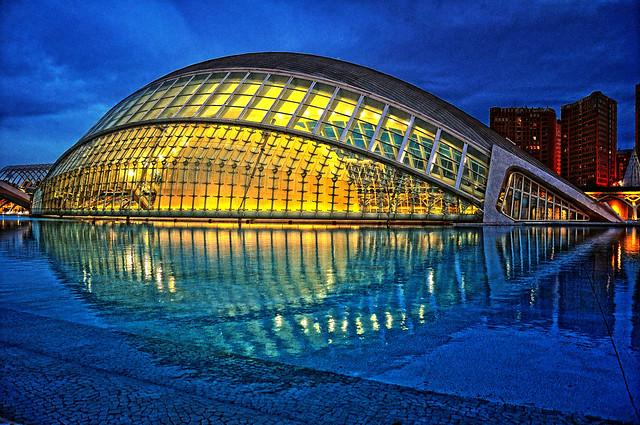 L'Hemisféric (Ciutat de les Arts i de les Ciències) I. Valencia