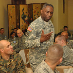 Ward challenges U.S. military mentors to be model professionals for Liberian soldiers - 20100325