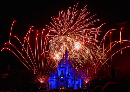 Magic Kingdom - Fireworks Friday