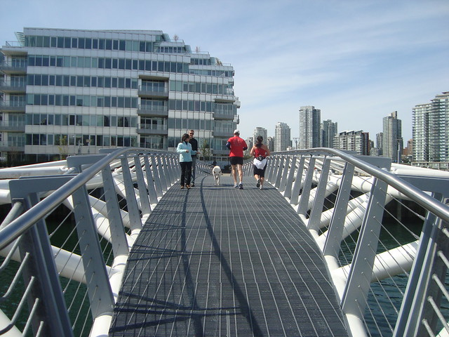 Vancouver 2010 Aftermath: Seawall Re-Opened to Public at Olympic Village