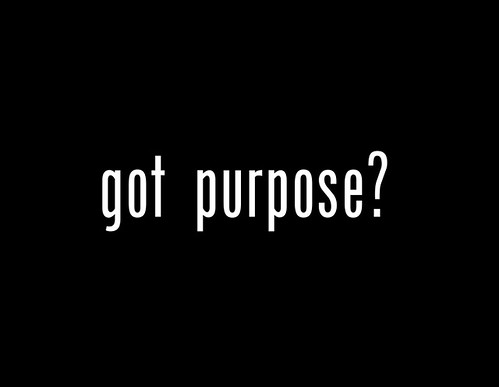 Got Purpose? - Sermon Title