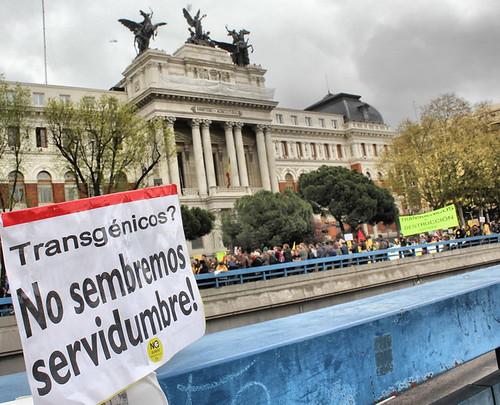 Manifestación 17 abril Madrid, Transgénicos, foto Rubén G. Herrera (1)