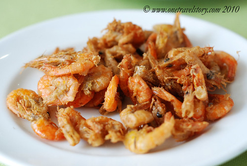Waway's Resto: Fried shrimps