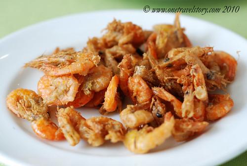 Waway's Resto: Fried shrimps