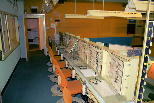 Telephone operators desks