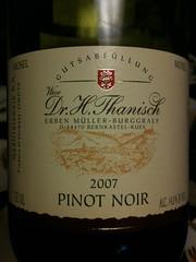 Dr. H. Thanisch Pinot Noir 2007