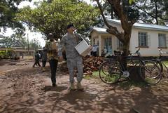 U.S. Army Medical Research Unit - Improving malaria diagnostics, Kisumu, Kenya 05-2010
