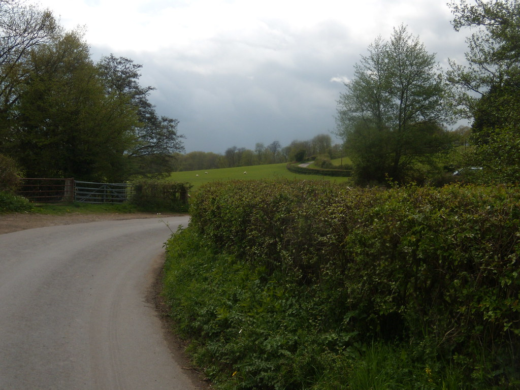 Winding road Hurst Green to Westerham