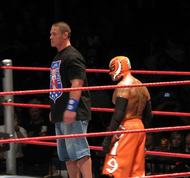 John Cena and Rey Mysterio | Flickr - Photo Sharing!