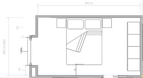 Forum aiuto per disposizione camera da letto - La finestra della camera da letto ...
