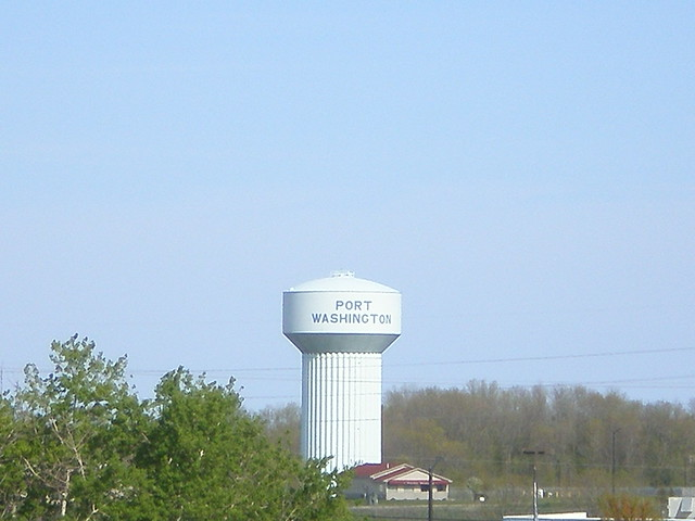 Port washington wi water tower flickr photo sharing for Port washington wi