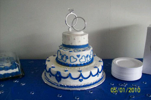 blue and silver wedding cakes princess s one can also use this theme for a gold 11961