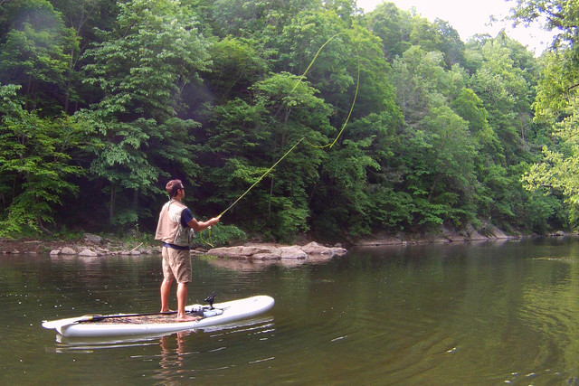 Fly fishing from the best fishing sup and kayak flickr for Fly fishing kayak
