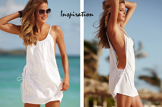 Tiny sparkly things diy easy t shirt bathing suit cover up for Beach shirt cover up