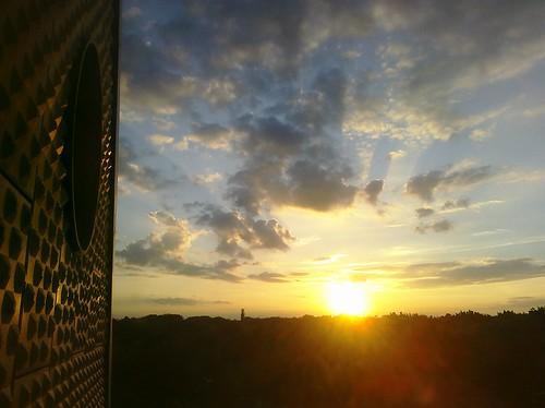 Sunset over Tiergarten, Berlin