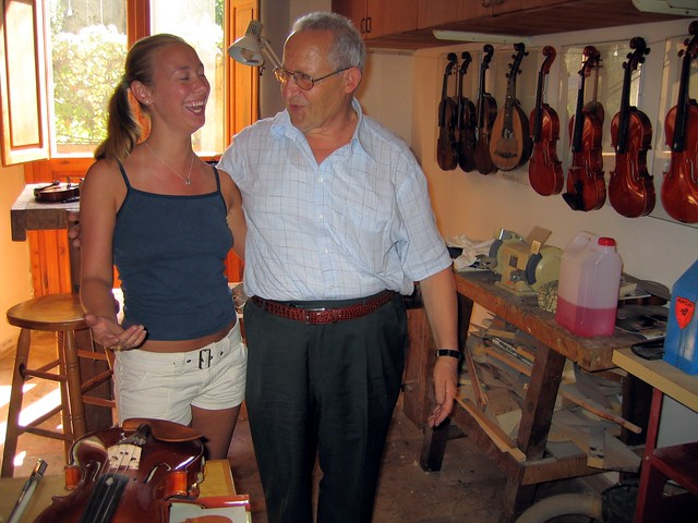 The Violinist and her Italian Violin Maker