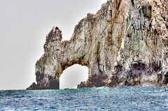natural arch, cape, sea, ocean, bay, formation, geology, sea cave, coast, rock, cliff,