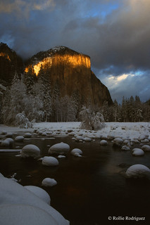 Fire on Granite, Part Two - El Capitan, Yosemite National Park