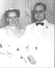 2/100:  My Parents on Their Wedding Day
