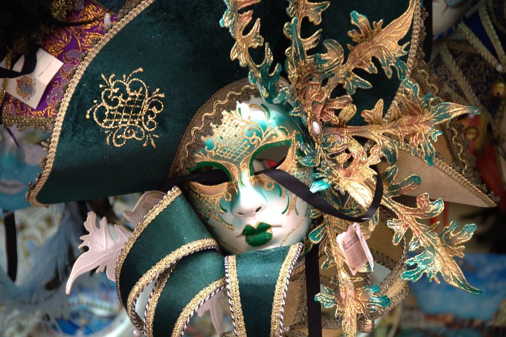Máscara veneciana - Flickr: gnuckx