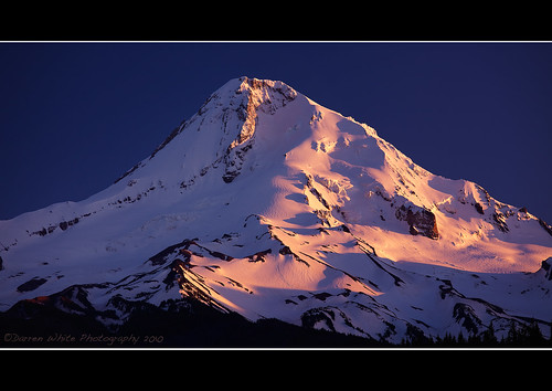Mount Hood Last Light