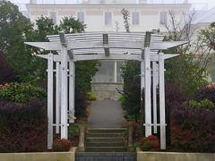 outdoor structure, pergola, architecture, column,