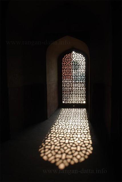 Inside Humayuan's Tomb