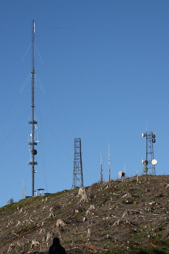 Radio Towers in Clear Cut
