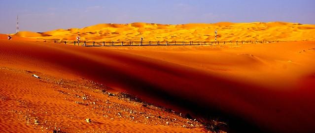Liwa desert dunes, Abu Dhabi