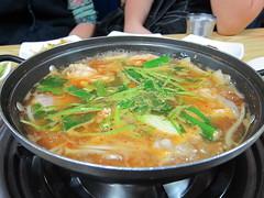 bãºn bã² huế(0.0), jjigae(0.0), sundubu jjigae(0.0), noodle(1.0), lamian(1.0), noodle soup(1.0), kimchi jjigae(1.0), hot pot(1.0), food(1.0), dish(1.0), haejangguk(1.0), soup(1.0), cuisine(1.0), oyakodon(1.0), nabemono(1.0),