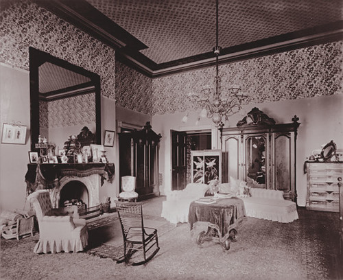 Cleveland bedroom White House 1893