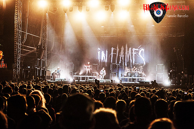 IN FLAMES @ NOVA ROCK 2017 [Nickelsdorf - Austria]