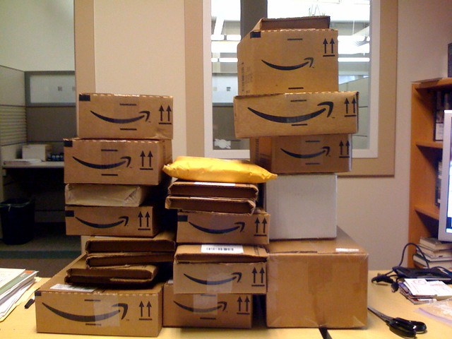 Shipments from Amazon
