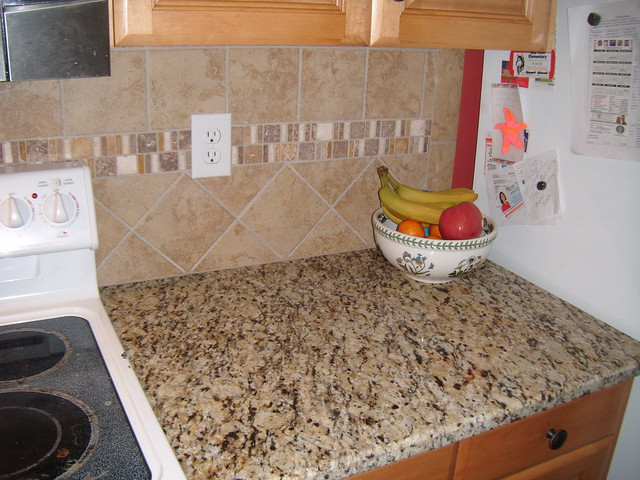 santa cecilia granite with tile backsplash charlotte nc flickr