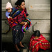 Tired family, Chichicastenango, Guatemala (2)