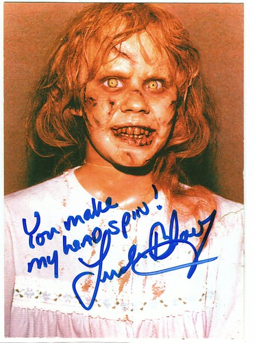 Linda Blair Autographed Photo